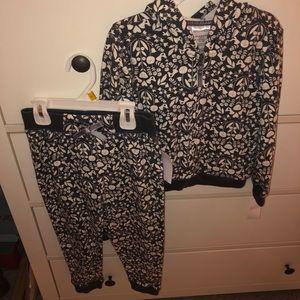 New! Toddler jacket/pants sweat set